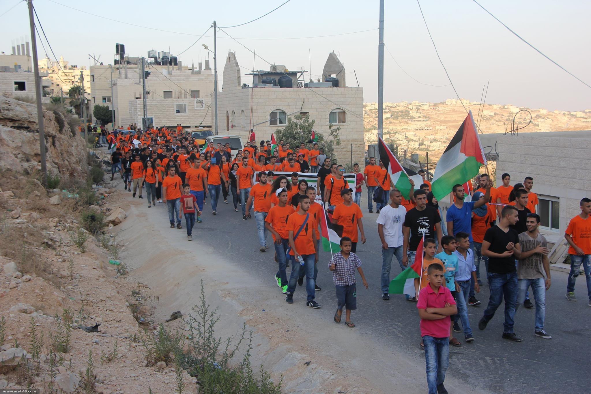 """اتحاد الشباب (التجمع) يختتم معسكره """"القدس قلب عروبتنا"""""""