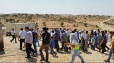 مشاركة واسعة بمظاهرة أم الحيران ضد الهدم والترحيل