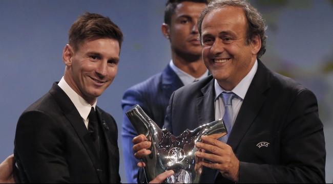 ميسي يحصد لقب أفضل لاعب في أوروبا