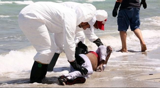 انتشال 105 جثث مهاجرين قبالة السواحل الليبية والمئات لا زالوا مفقودين