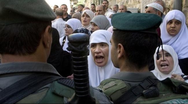 الاحتلال يواصل منع النساء من دخول الأقصى