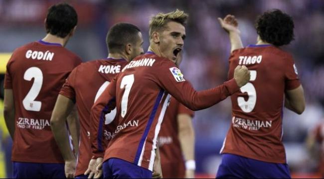 أتلتيكو مدريد يحقق فوزاً خارجياً على إشبيلية بثلاثية