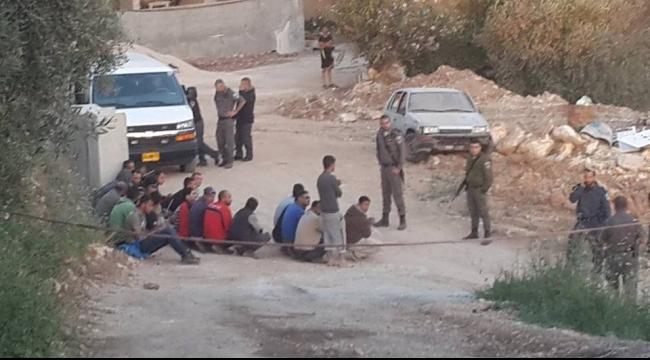 اعتقال 12 عاملا فلسطينيا بذريعة دخول الخط الأخضر