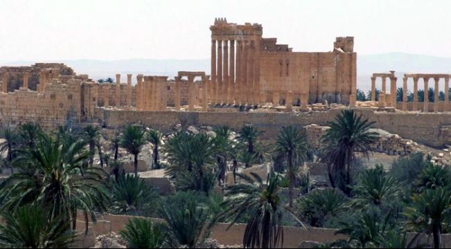 داعش يواصل تدمير آثار تدمر