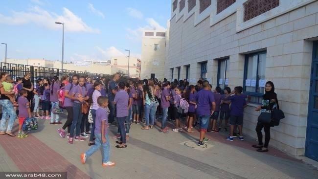 عكا: المدارس تفتتح أبوابها باستثناء تيراسنطة