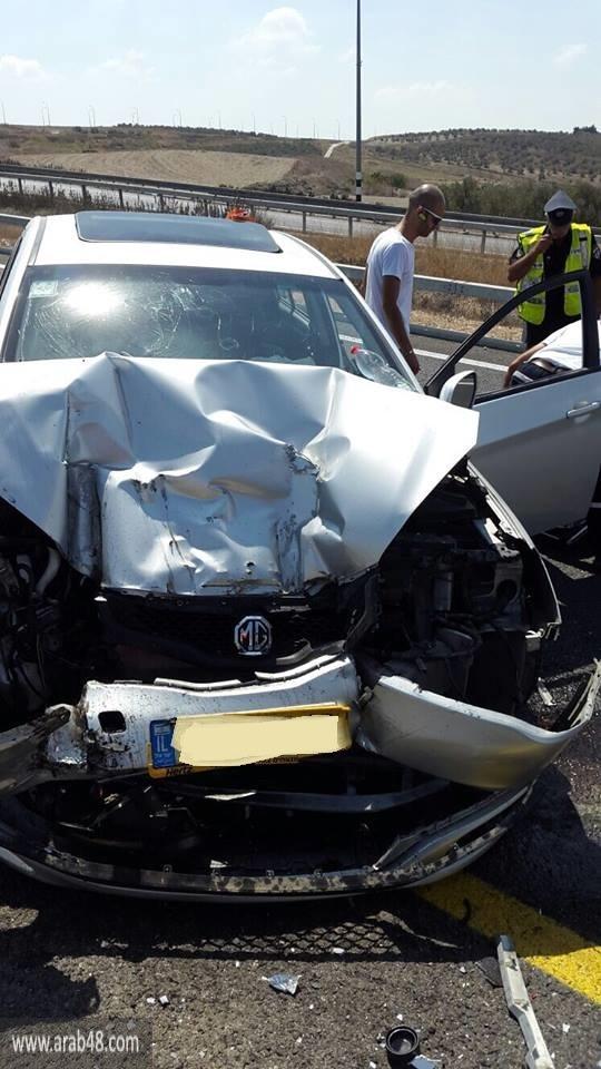 شفاعمرو: إصابتان في حادث طرق