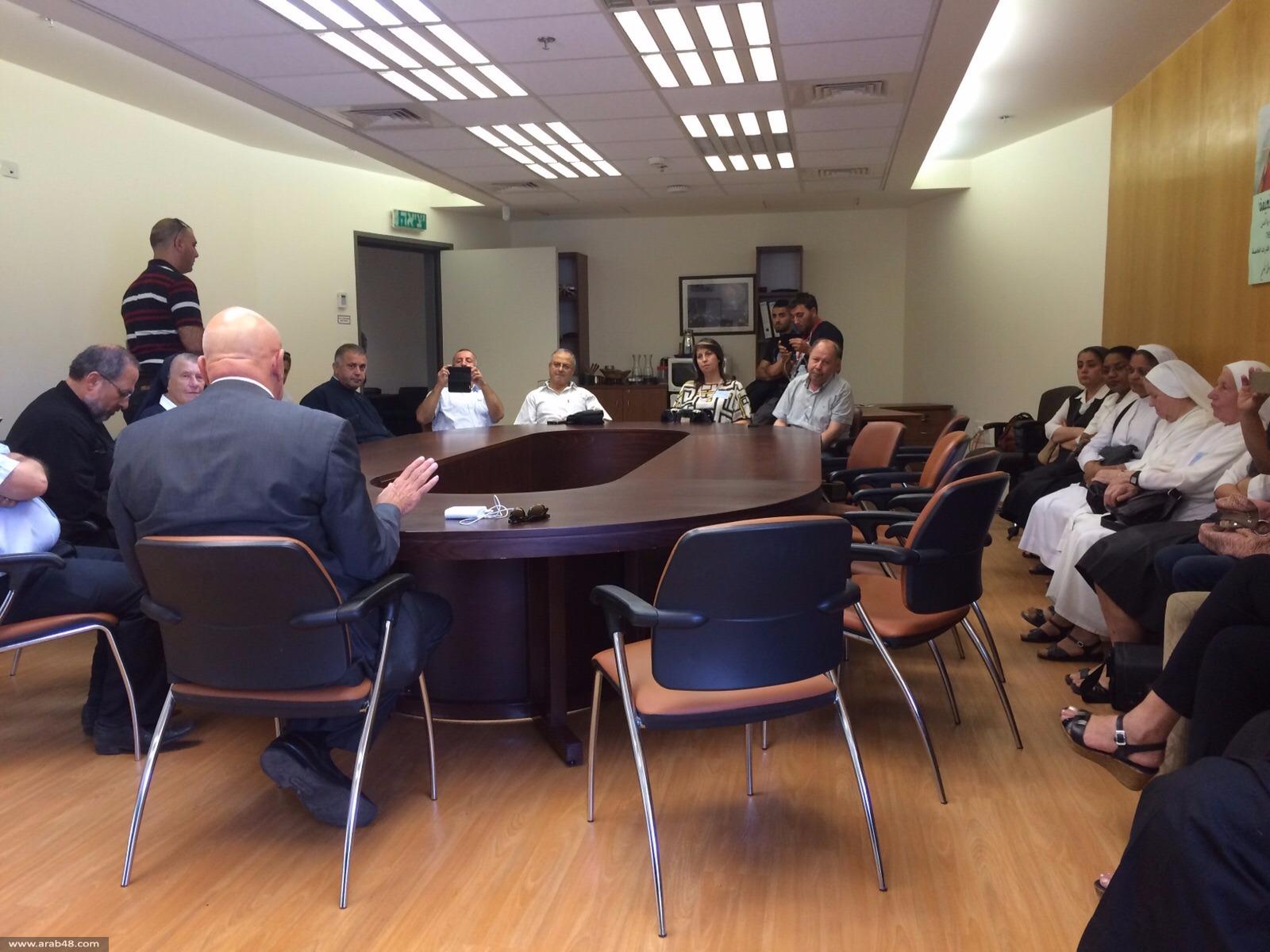 مناقشة أزمة المدارس الأهلية في جلسة بالكنيست
