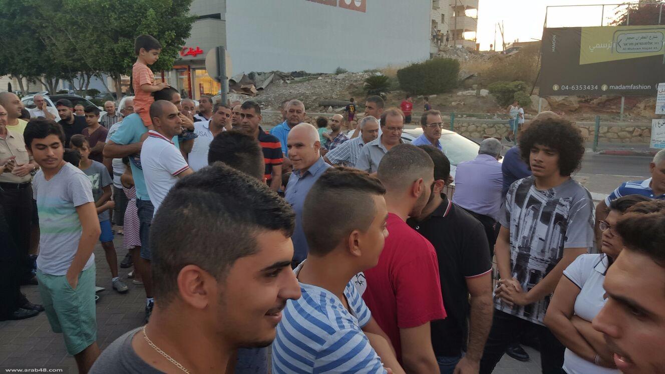 شفاعمرو: تظاهرة احتجاج على عدم الاستجابة لمطالب المدارس الأهلية