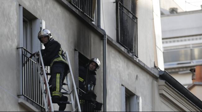 باريس: مصرع ثمانية أشخاص بينهم أطفال في حريق