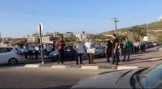 الرينة: مظاهرة احتجاجيّة على استمرار الاختناق المروري