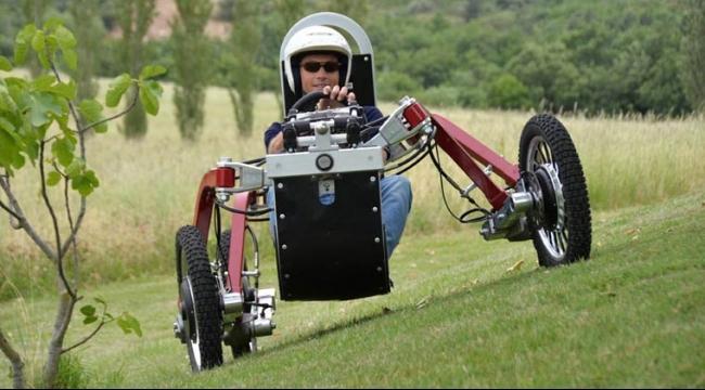 السيارة العنكبوتية المتأرجحة تسير دون ضجيج أو تلوث
