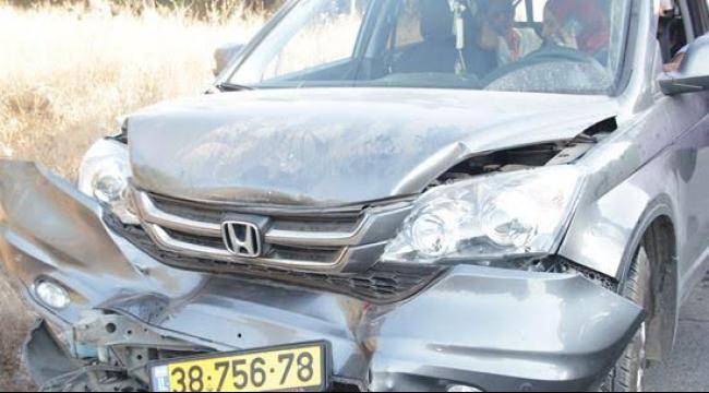 برطعة: 5 إصابات متفاوتة جراء حادث طرق