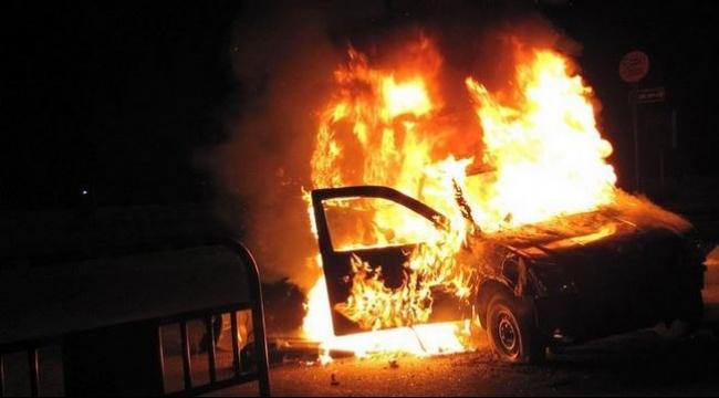 عرابة البطوف: مجهولون يضرمون النيران بمركبة خصوصية