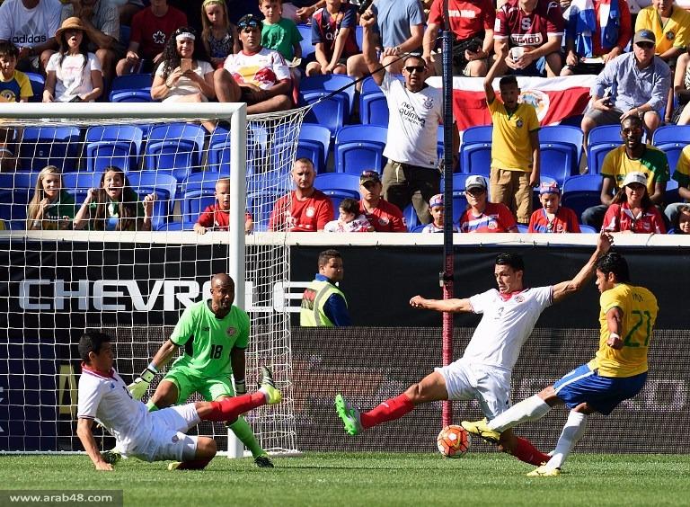 البرازيل تفوز على كوستاريكا ودياً بهدف دون رد