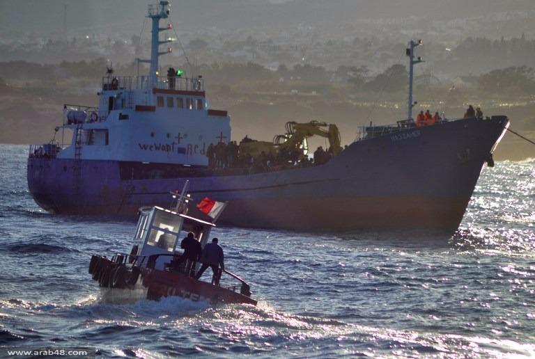 إنقاذ 100 لاجئ فلسطيني وسوري على شواطئ قبرص