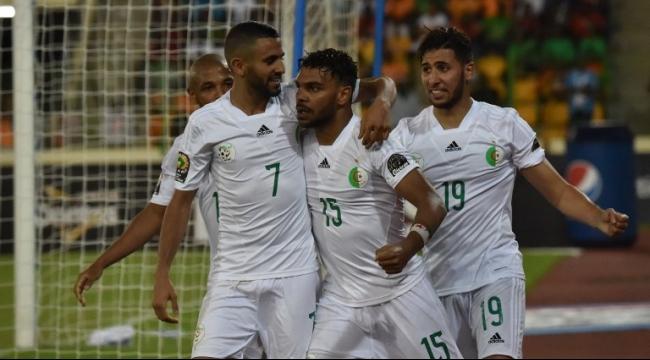 سوداني يقود الجزائر للفوز على ليسوثو