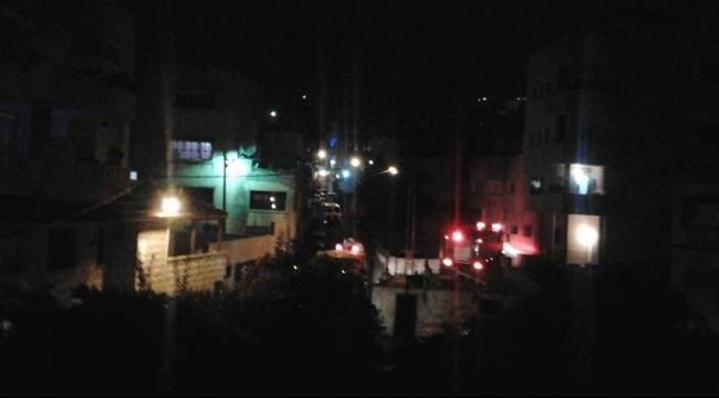 أم الفحم: إصابة متوسّطة جراء إلقاء قنبلة