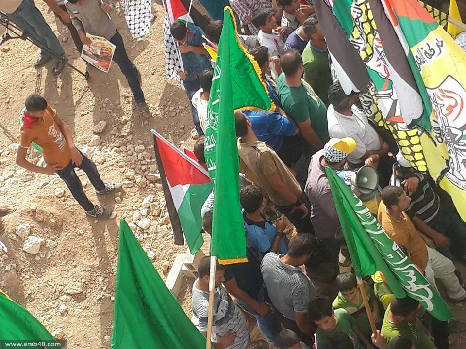 إلى جانب جثمانيّ طفلها وزوجها: دفن الشهيدة دوابشة