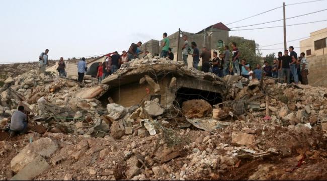 13 ألف مبنى فلسطيني مهدّد بالهدم في الضفة الغربية