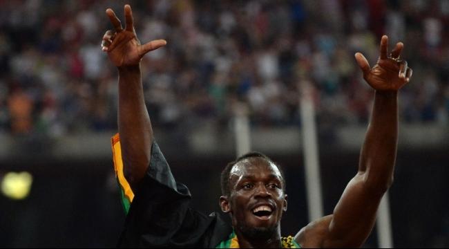 العداء الجامايكي يوسين بولت ينهي موسمه