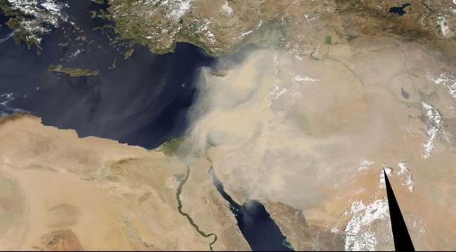 لبنان وسورية: العاصفة الرملية تودي بحياة 8 أشخاص