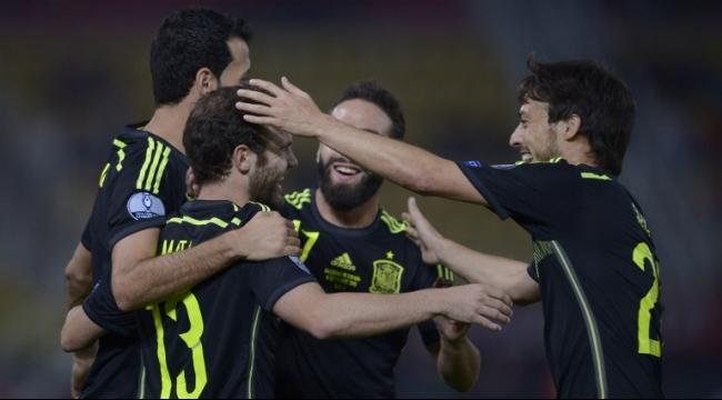 هدف نظيف لإسبانيا بشباك مقدونيا بتصفيات يورو 2016