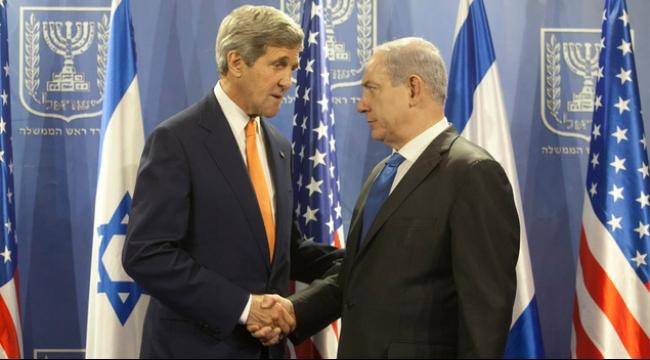 كيري يكرر لنتنياهو أسطوانة الالتزام بأمن إسرائيل