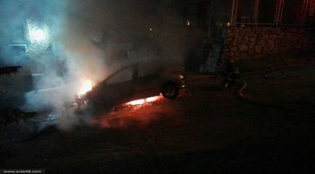 ساجور: مجهولون يحرقون سيارة مواطن