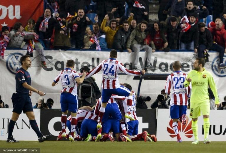أتلتيكو مدريد يستضيف برشلونة بموقعة مبكرة في الدوري