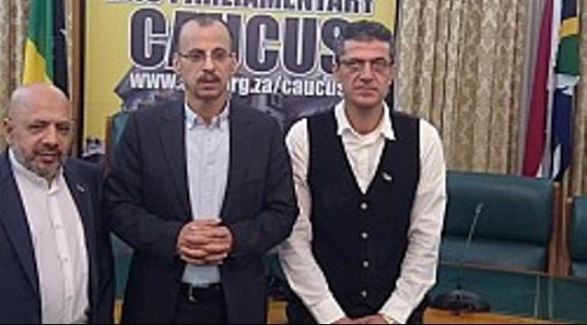 عبد الفتاح في كيب تاون يدعو لفضح سياسات إسرائيل