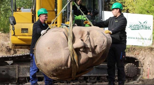 رأس لينين يظهر من جديد في برلين