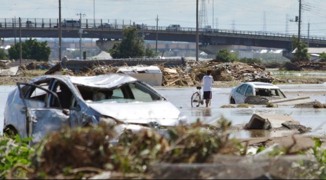 ضحايا ومفقودون في فيضانات وانهيارات أرضية في اليابان