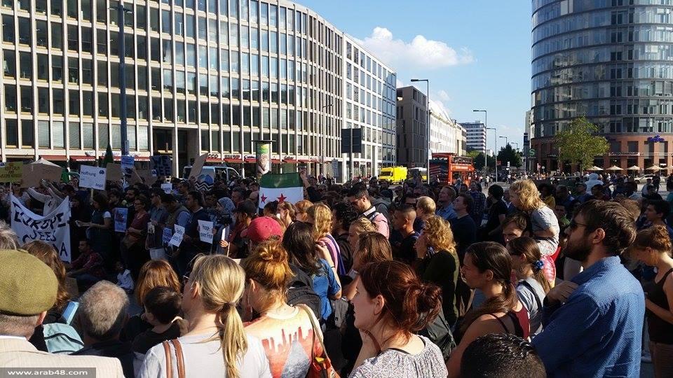 """""""برلين ترى سوريا"""": لاحتضان المزيد من اللاجئين"""