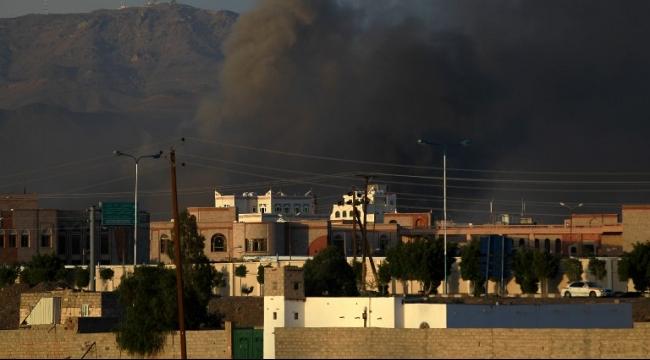 قبل المفاوضات: التحالف يشنّ غارات مكثّفة على صنعاء