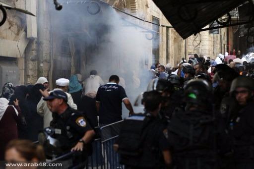 قوات الاحتلال تقتحم الأقصى مجددا... وتنسحب