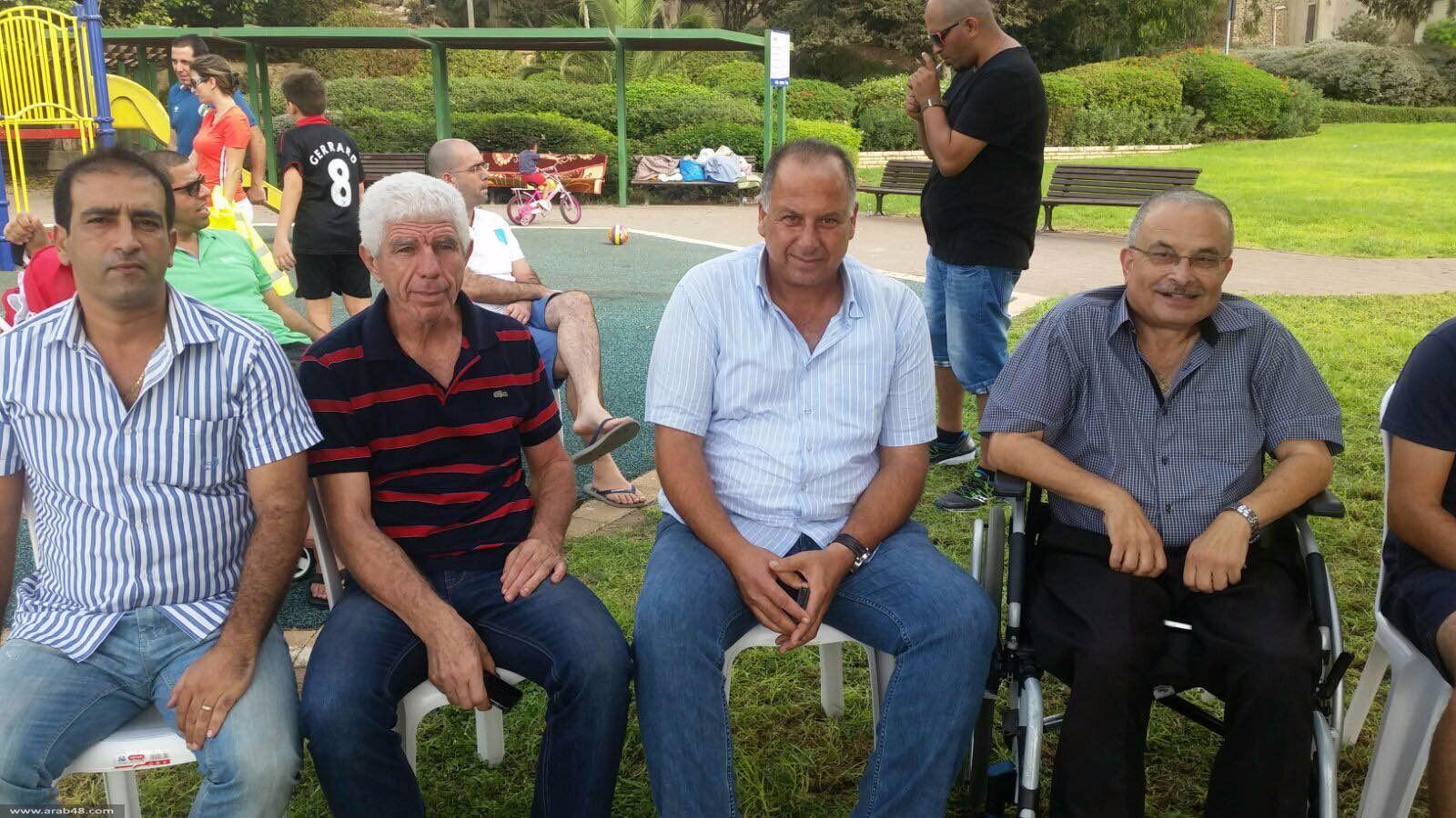 حيفا: التجمع يزور خيمة الاعتصام ويتضامن مع الأهلية