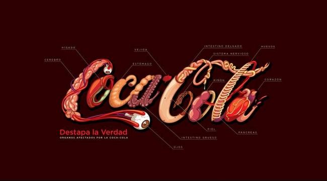 إعادة تصميم شعار الكوكا كولا
