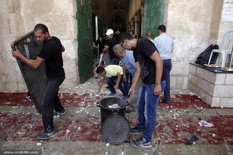 صور لاقتحامات المسجد الأقصى في الأيام الأخيرة