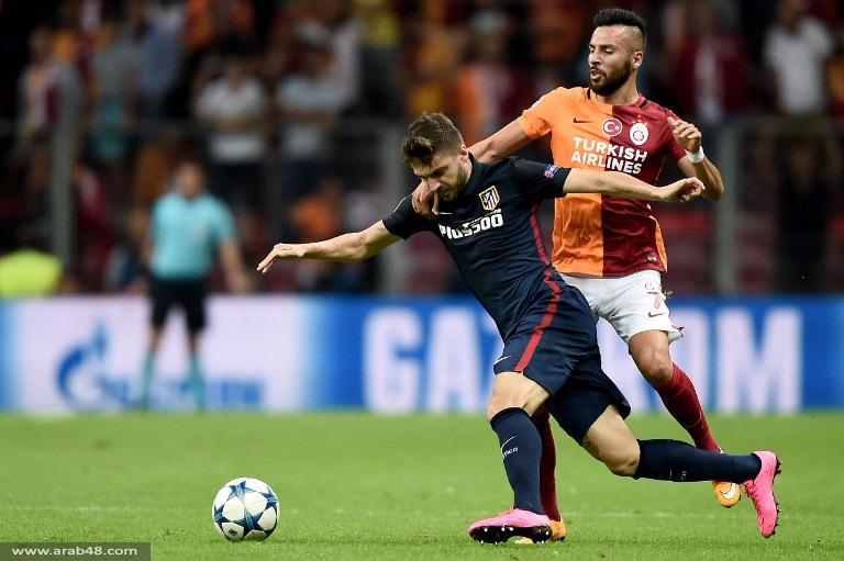 جريزمان يقود أتلتيكو مدريد لفوز خارجي على غلطة سراي