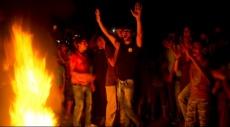 مظاهرات في غزة احتجاجا على استمرار أزمة الكهرباء