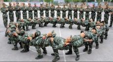 الصين تعلم جنودها الرقصات الشعبية