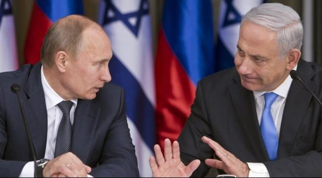 نتنياهو يناقش مع بوتين التواجد العسكري الروسي في سورية