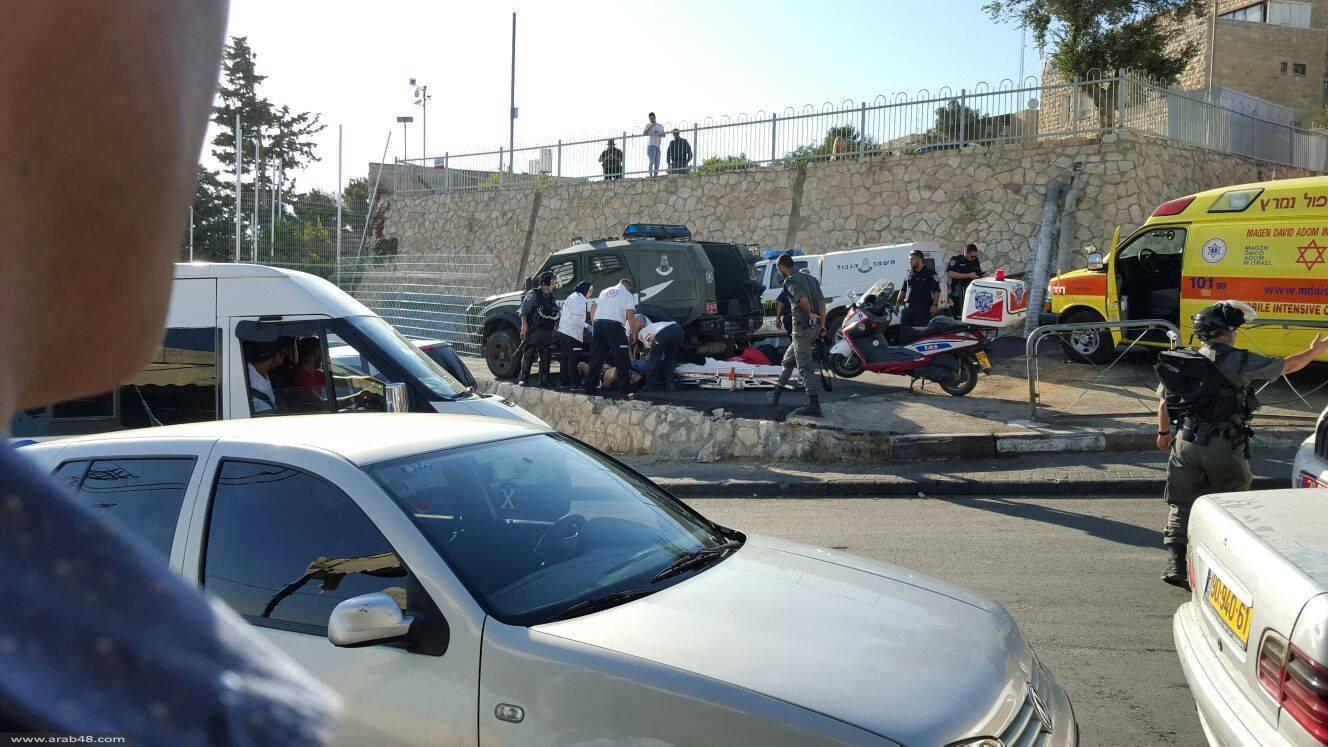 القدس: إصابة 3 مستعربين وإحراق مركبتهم