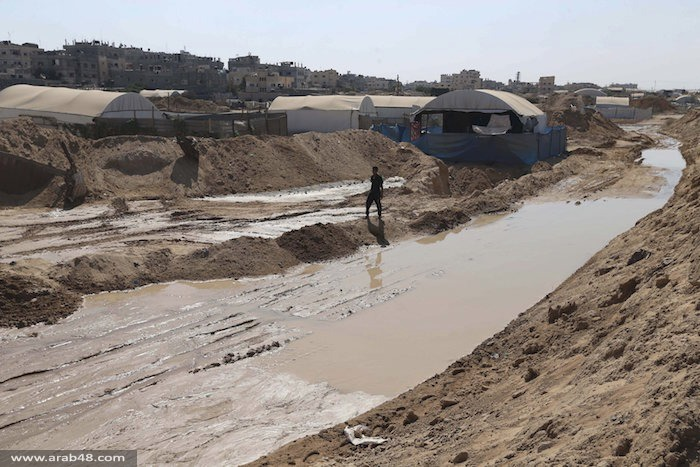 الجيش المصري يغرق أنفاق غزة بمياه المتوسط