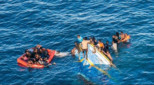 غرق سبعة مهاجرين بينهم طفل قبالة ليبيا