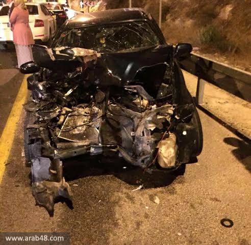 إصابتان خطيرتان في حادث سير قرب طمرة