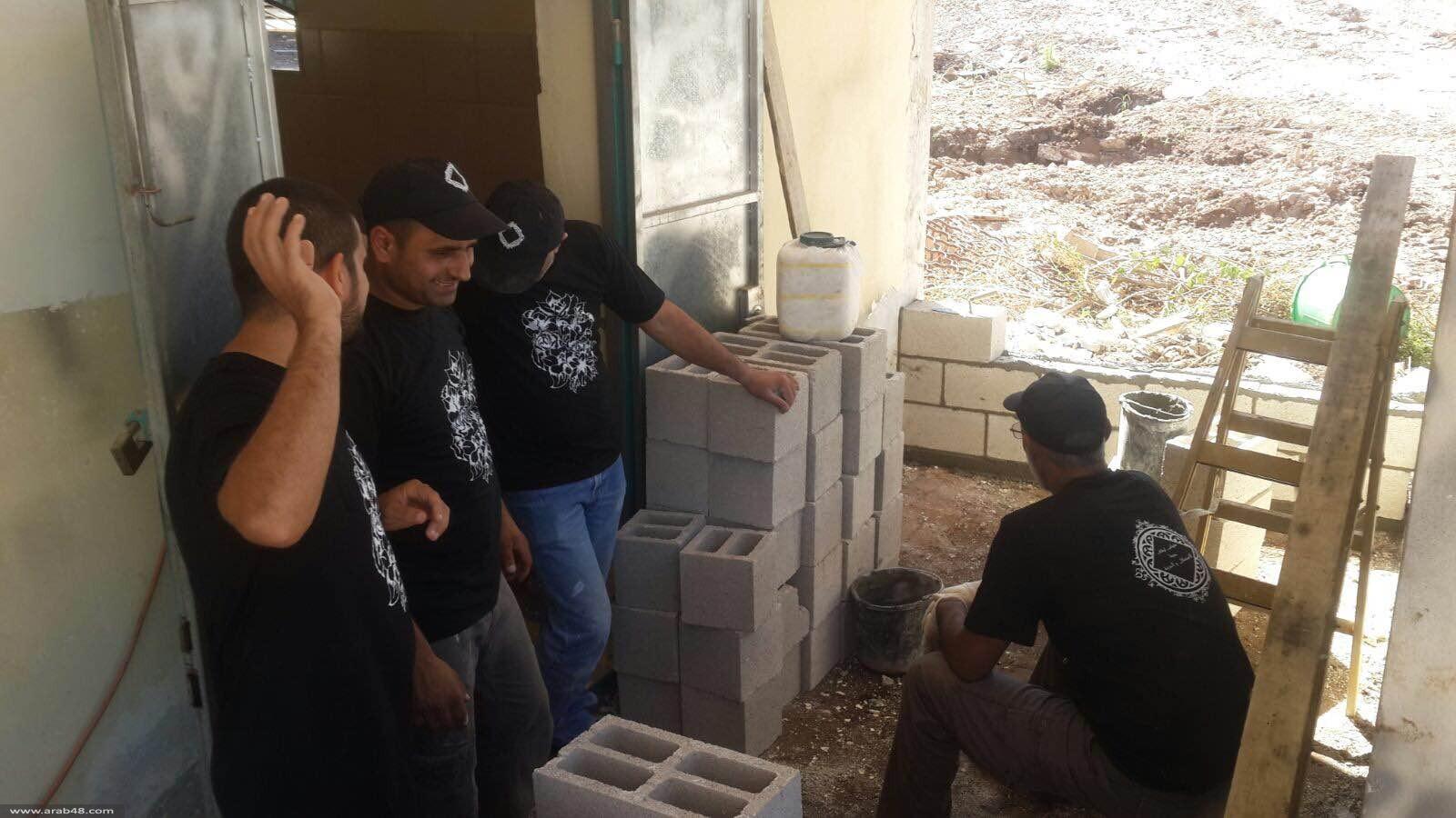 حيفا: المئات في يوم تطوعي في مقبرة كفر سمير