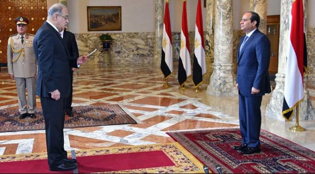 مصر: الحكومة الجديدة تؤدي اليمين الدستورية