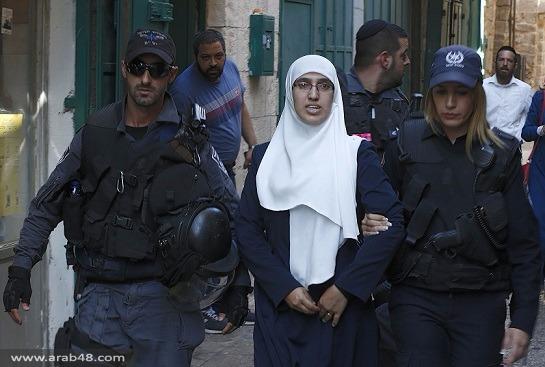 اعتقالات واعتداءات على أبواب المسجد الأقصى
