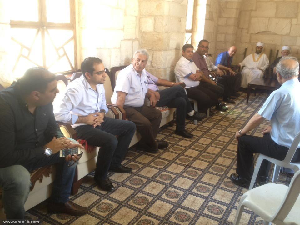 التجمع يزور المسجد الأقصى ويحذر من مواصلة الانتهاكات الإسرائيلية